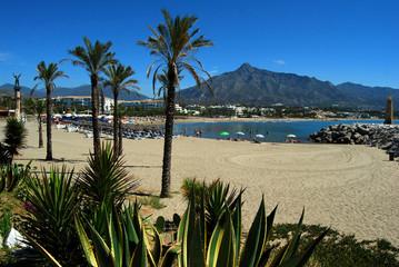 Playa Río verde, Marbella