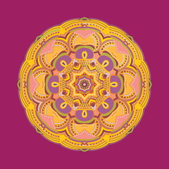 Colorful mandala. Vector element for your design