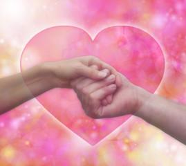 Tender Valentine Embrace, soft focus