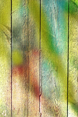 abstract vintage multicolored wooden background