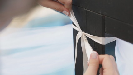 Decoration of wedding ceremony