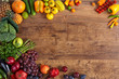 canvas print picture - Healthy eating background