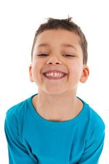 Studio portrait Antillean toddler boy