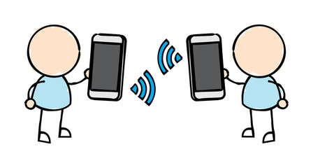 Smartphone Wireless Exchange