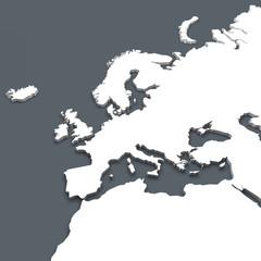 Cartina Europa Africa planisfero