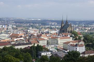 Historic center of Brno, Czech republic