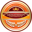 Aromatherapy - Citrus Essential Oil Label