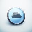 icône bouton internet nuage cloud