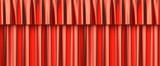 Red curtain seamless background