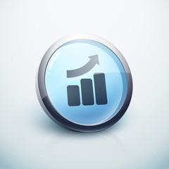 icône bouton internet graphique diagramme