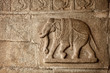 Elephant basrelief in Hampi
