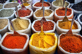 Fototapety Indian colorful spices
