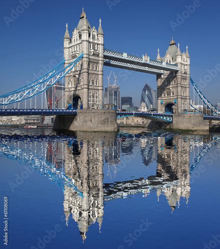 Leinwandbild Motiv Tower Bridge  in London, England