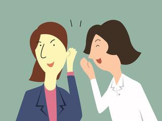 Woman gossip