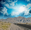 Leinwandbild Motiv Road to infinity