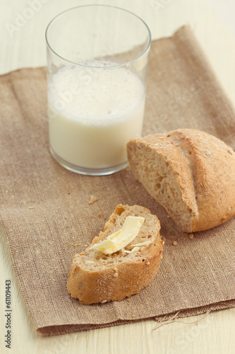 bread and milk