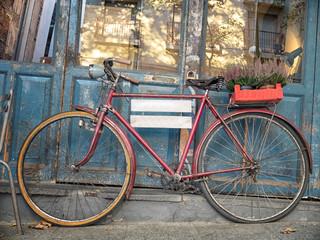 Bicicleta anuncio