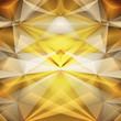 Abstract gold background. Vector