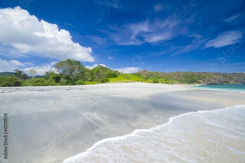Poster Deserted beach
