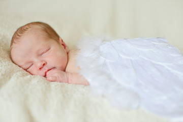 angelic newborn