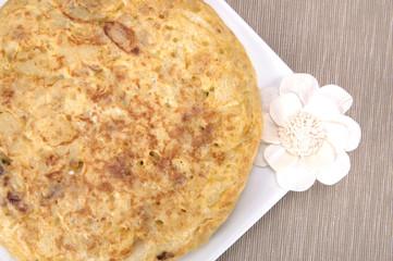 Tortilla de patata cenital