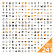 241 VECTOR ICONS (icon set poster marketing business buttons)