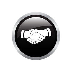 handshake button icon