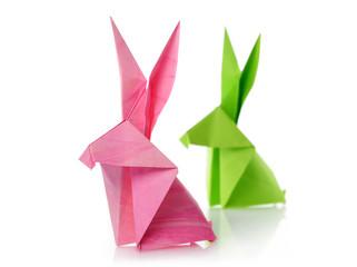paper rabbits