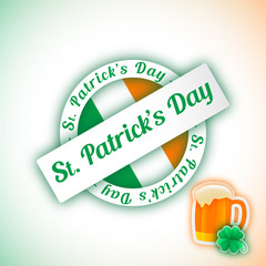 St Patrick's Day - Vector illustration