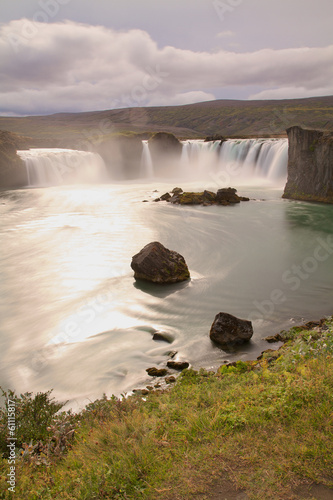 the godafoss waterfall