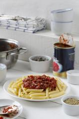Pasta al Pomodoro e Origano