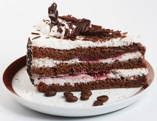 chocolate cake close up shoot