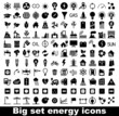 Energy and resource icon set - 61119089