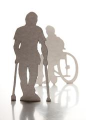 Disabled men