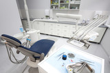 Dental instruments and tools in a dentists office  - 61120833