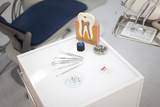 Dental instruments and tools in a dentists office  - 61120871
