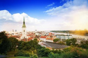 Panorama of Bratislava