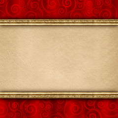 Double-layered background template