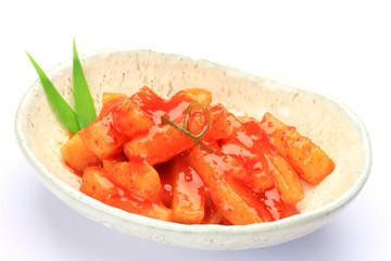 kimchi of the Japanese radish