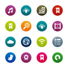 Internet and wedsites icons – Kirrkle series
