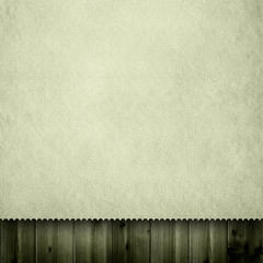 Blank paper sheet on wooden background