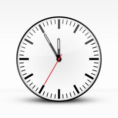 Uhr Weiß, Fünf vor Zwölf