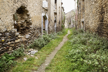 Janovas Abandoned Village in Spain