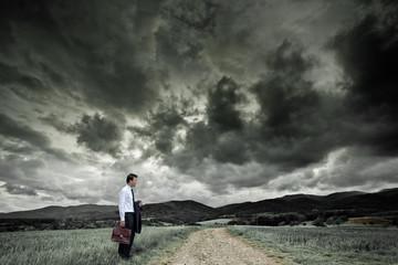 Concept homme business emploi
