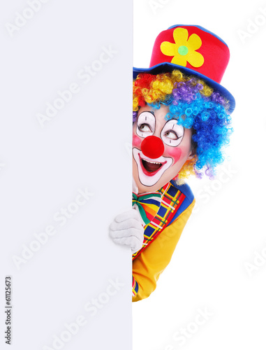 Foto op Canvas Carnaval Clown
