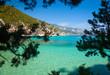 Sardinian Bay framed view