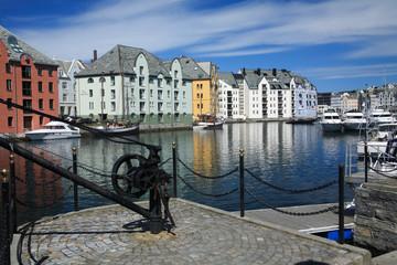 alesun città della norvegia