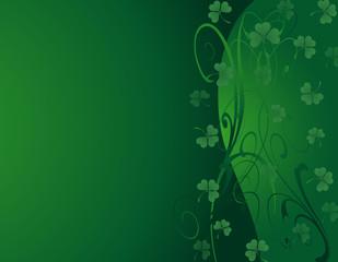 St Patrick's- Green Shamrock