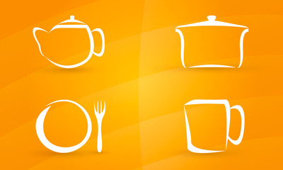 kitchen ware icon