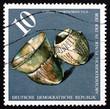 Postage stamp GDR 1976 Vessels, c. 3000 B.C.